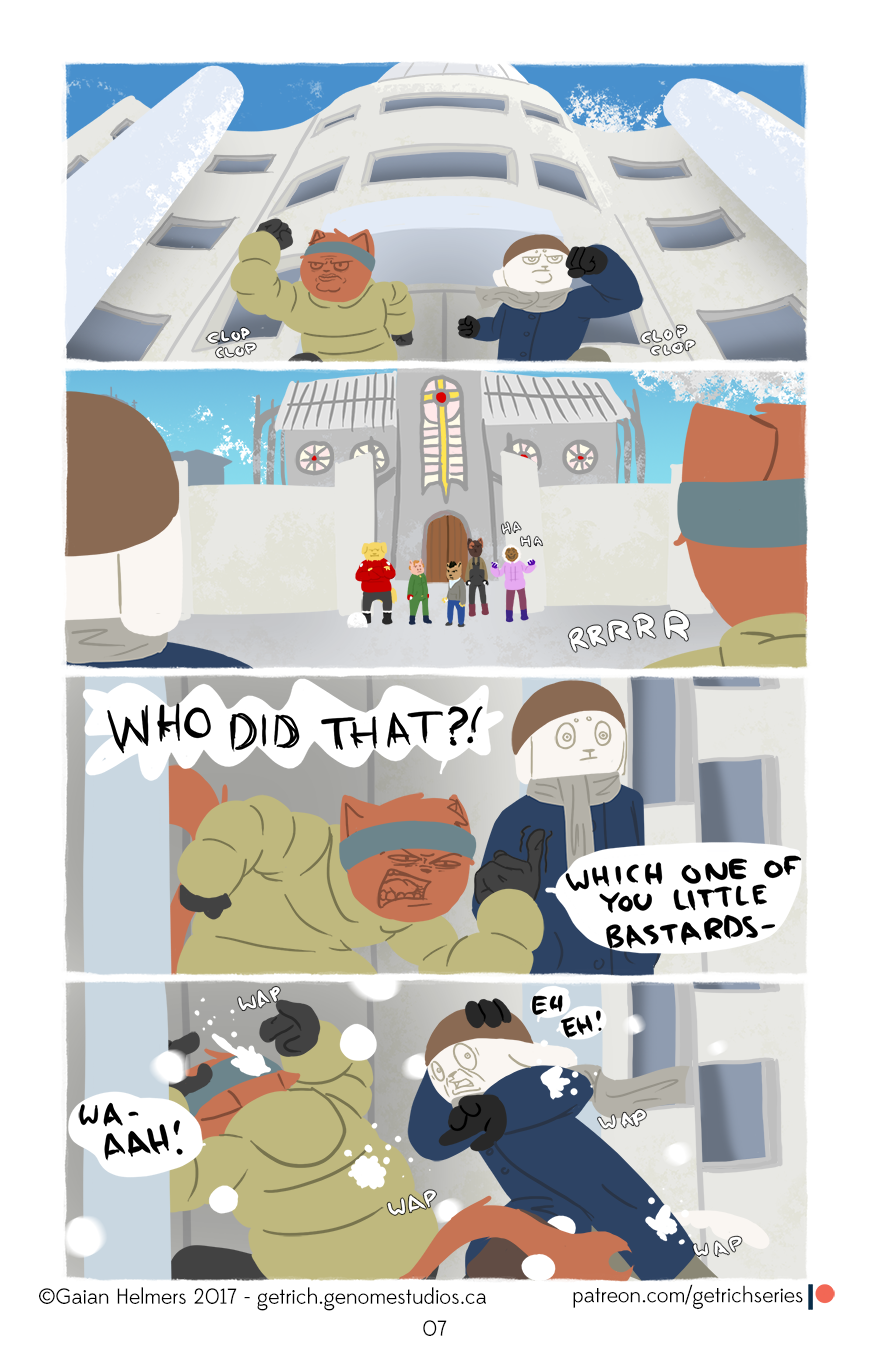 Get Rich Comic
